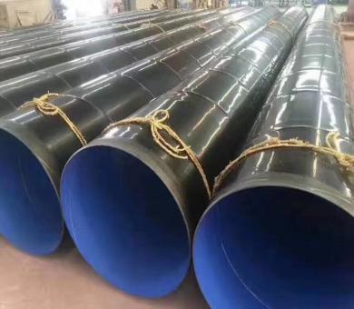 加强级3PE防腐螺旋钢管