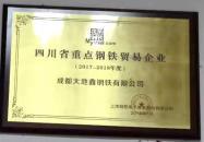四川省重点贸易企业